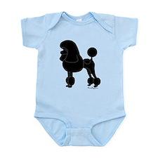 Poodle Silhouette Infant Bodysuit