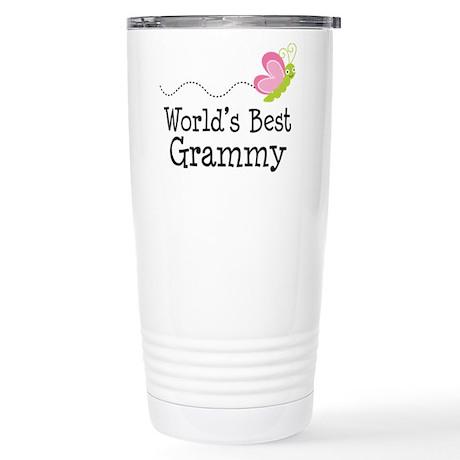 World's Best Grammy Stainless Steel Travel Mug