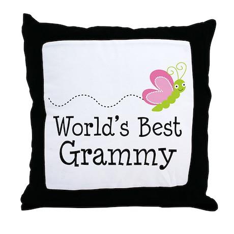 World's Best Grammy Throw Pillow