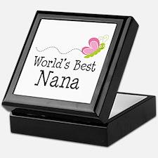 World's Best Nana Keepsake Box