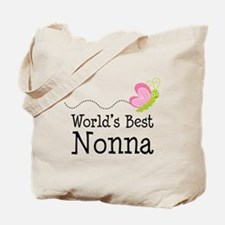 World's Best Nonna Tote Bag