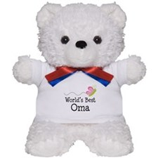 World's Best Oma Teddy Bear