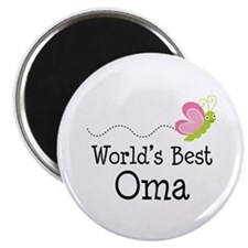 World's Best Oma Magnet