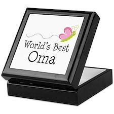 World's Best Oma Keepsake Box