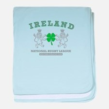 Ireland Rugby League baby blanket