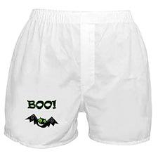 BOO! Green Eyes Boxer Shorts