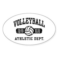 Volleyball 2012 Decal