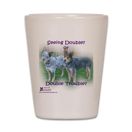 Double Trouble ACDs Shot Glass