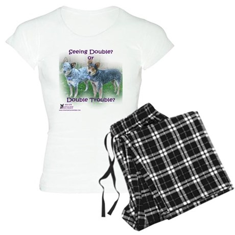 Double Trouble ACDs Women's Light Pajamas