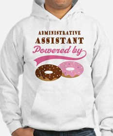 Administrative Assistant Gift Donuts Hoodie