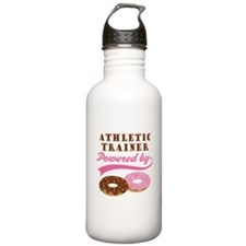 Athletic Trainer Gift Doughnuts Water Bottle