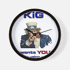KiG wants you! NO M203'S! Wall Clock