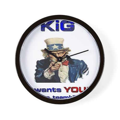 KiG wants you! to teamkill Wall Clock