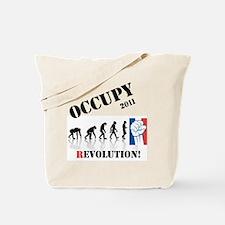 Occupy Evolution Tote Bag