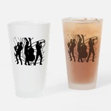 Music Drinking Glass