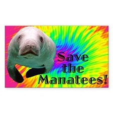 Save the Manatees Decal