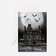 Halloween House Greeting Cards (Pk of 10)