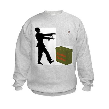 Zombie Cacher Kids Sweatshirt