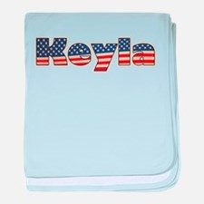American Keyla baby blanket