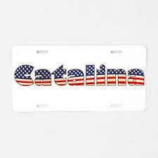 American Catalina Aluminum License Plate