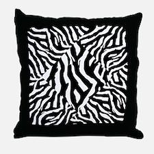 Zebra Print Pattern Throw Pillow
