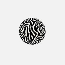 Zebra Print Pattern Mini Button (10 pack)