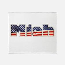American Miah Throw Blanket
