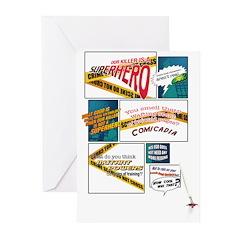 Comics Greeting Cards (Pk of 20)