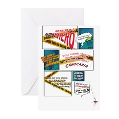 Comics Greeting Cards (Pk of 10)