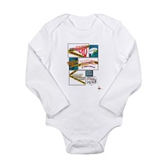 Comics Long Sleeve Infant Bodysuit