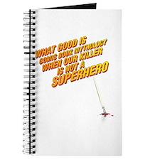 Comic book mythology Journal