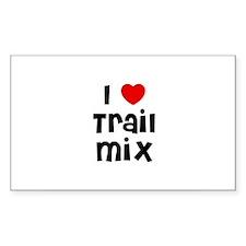 I * Trail Mix Rectangle Decal