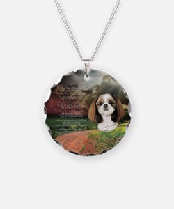 """""""Why God Made Dogs"""" Shih Tzu Necklace"""