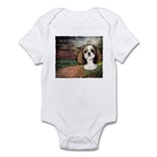 """Why God Made Dogs"" Shih Tzu Infant Bodysuit"