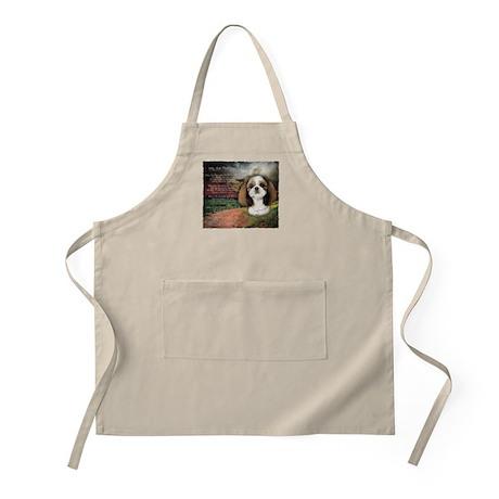 """Why God Made Dogs"" Shih Tzu Apron"