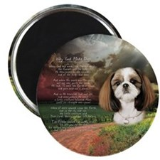 """Why God Made Dogs"" Shih Tzu Magnet"