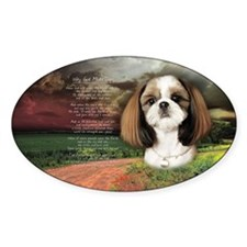 """""""Why God Made Dogs"""" Shih Tzu Decal"""