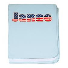 American Janae baby blanket