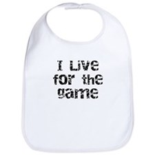 Live for the Game Bib