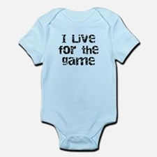 Live for the Game Infant Bodysuit