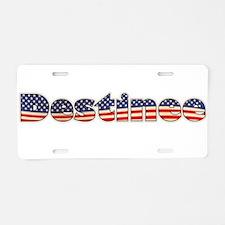 American Destinee Aluminum License Plate