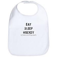Eat Sleep Hockey Bib