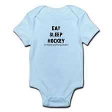 Eat Sleep Hockey Infant Bodysuit