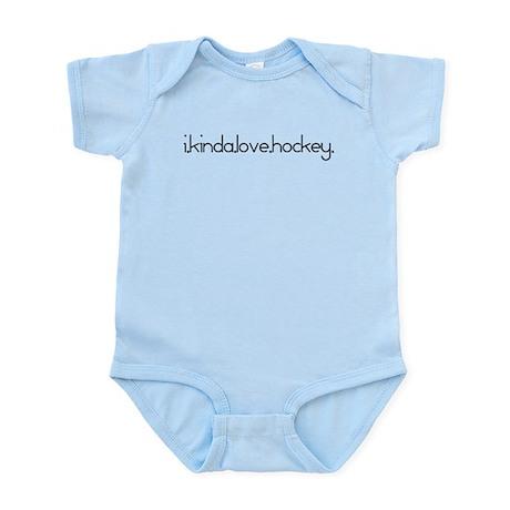 I Kinda Love Hockey Infant Bodysuit