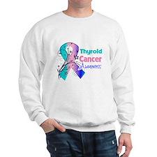 Thyroid Cancer Awareness Sweatshirt