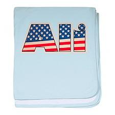 American Ali baby blanket