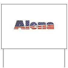 American Alena Yard Sign