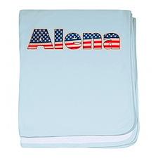 American Alena baby blanket