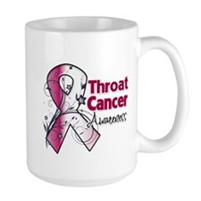Throat Cancer Awareness Mug