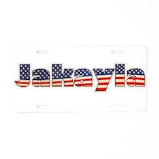 American Jakayla Aluminum License Plate